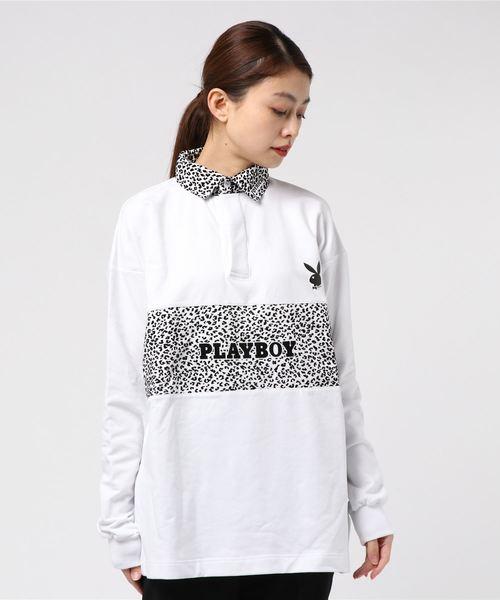 Playboy Leopard Rugby Shirts