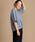 Munich(ミューニック)の「ドライタッチオックスクルーネックトップス【セットアップ可】(シャツ/ブラウス)」|ブルー
