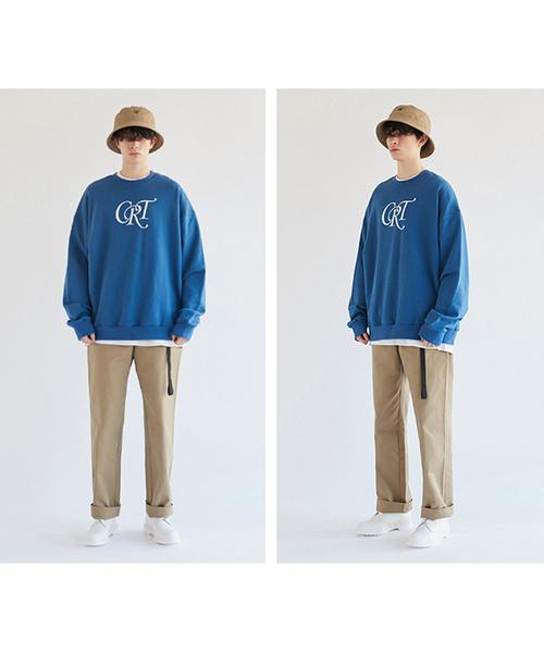 【CRITIC】CRT ロゴ スウェットシャツ