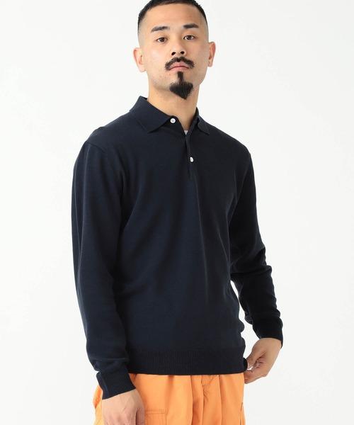 BEAMS PLUS / 12ゲージ ニット ポロシャツ