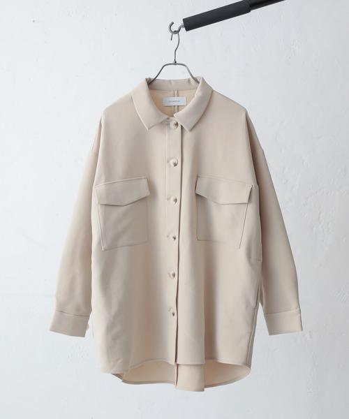 Lui's(ルイス)の「CPOシャツジャケット(その他アウター)」|ホワイト系その他