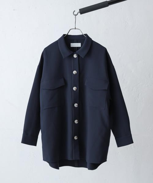 Lui's(ルイス)の「CPOシャツジャケット(その他アウター)」|ネイビー