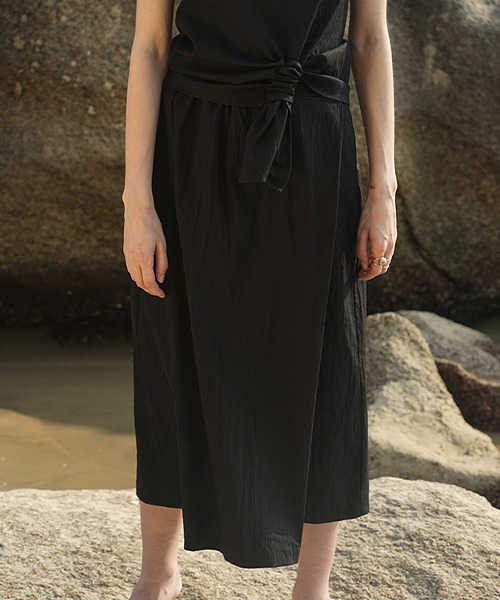 【LeonoraYang】Side tuck skirt chw1504