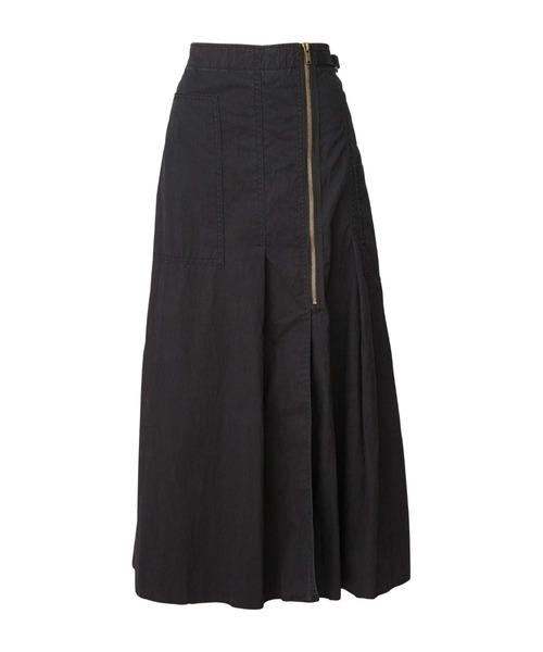 ミリタリーロングスカート