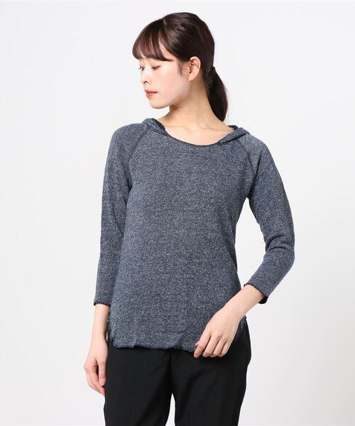玄関先迄納品 【V::ROOM fleece】ブイ hooded ルーム/ melange gauze gauze fleece 3/4 hooded pullover(パーカー)|v::room(ヴィルーム)のファッション通販, No Charge:37dfa9e0 --- skoda-tmn.ru
