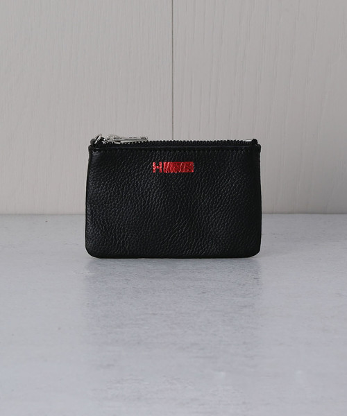 <H>LOGO LEATHER KEY COIN CASE/ケース◇