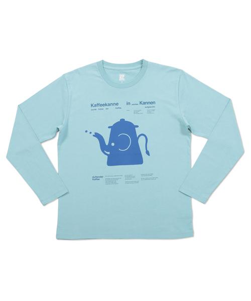 ロングスリーブTシャツ/エレファント ポット