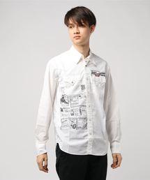 SUPER HYS ROCK pt 長袖ウエスタンシャツ