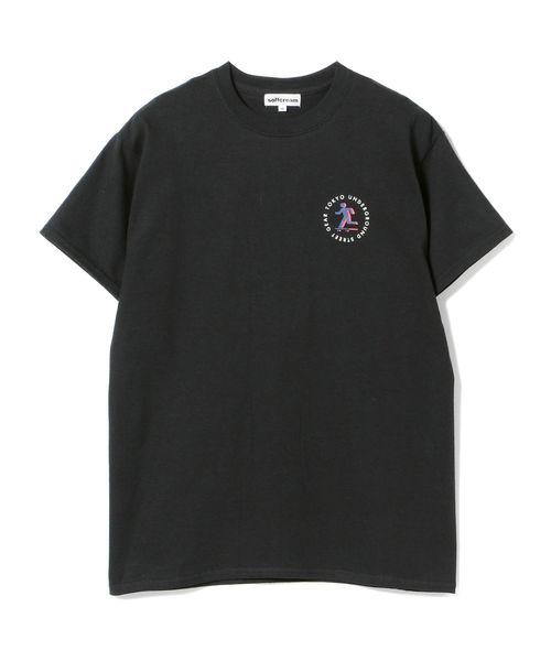 SOFT CREAM × BEAMS / 別注 STREET GEAR Tシャツ