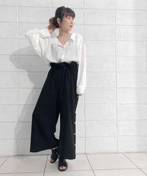 EZUMi(エズミ)のEZUMi(エズミ)別注襟抜きシャツ(シャツ/ブラウス)