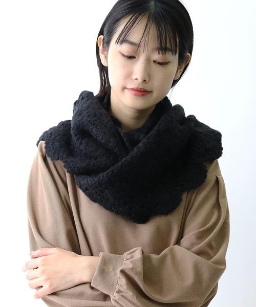 粗め手編みスヌード 84411 SGTIT