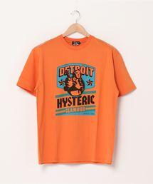 DETROIT Tシャツオレンジ