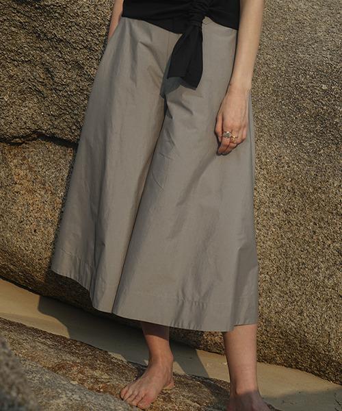 【LeonoraYang】Midi flare pants chw1505
