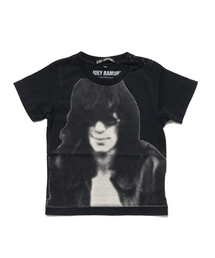 JOEY RAMONE × JOEY HYSTERIC Tシャツブラック