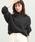 ViS(ビス)の「【WEB限定】ボートネックニット(ニット/セーター)」 チャコールグレー