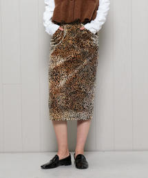 <ROSEanna>LEOPARD PRINT TIGHT SKIRT/スカート