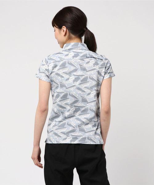 【MASTER BUNNY EDITION】船柄プリント アイスコットン 半袖 ポロシャツ