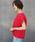 LAVEANGE(ラビアンジェ)の「麻 リネンタックスリーブブラウス(シャツ/ブラウス)」|ピンク