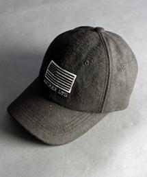 """AVIREX(アヴィレックス)のavirex/ アヴィレックス / CURVE BASEBALL CAP MELTON""""FLAG""""/ カーブ ベースボールキャップ メルトン(キャップ)"""