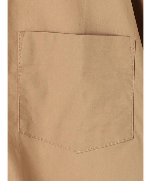 タイプライタードロップ半袖レギュラーカラーシャツ