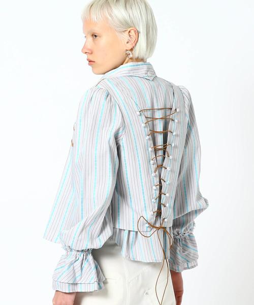 maturely / Dobby Back Lace Westen