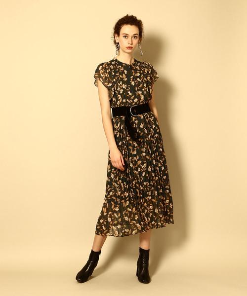 品質のいい ボタニカルプリーツドレス(ワンピース) NINE(ナイン)のファッション通販, カワナベグン:26fae0a4 --- 5613dcaibao.eu.org