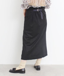YEAR FEW OF MY FAVORITE THINGS(イヤーフューオブマイフェイバリットシングス)のダンボールスエード Aラインスカート(スカート)