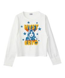 THE GLITTER GIRL ショートTシャツホワイト