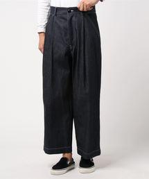 Traditional Weatherwear(トラディショナルウェザーウェア)の【MEN'S】バックベルト ウィズ ポケット(デニムパンツ)