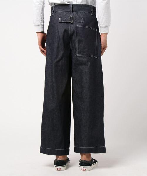 【MEN'S】バックベルト ウィズ ポケット