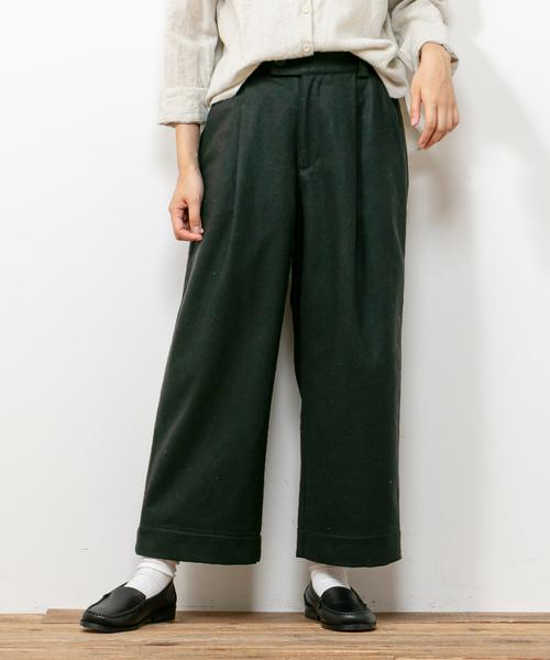 最新発見 【日本製 ce】エアリーフラノタックパンツ(パンツ)|pual pual ce ce cin(ピュアルセシン)のファッション通販, ウォールステッカーミュークハウト:4b681376 --- 5613dcaibao.eu.org