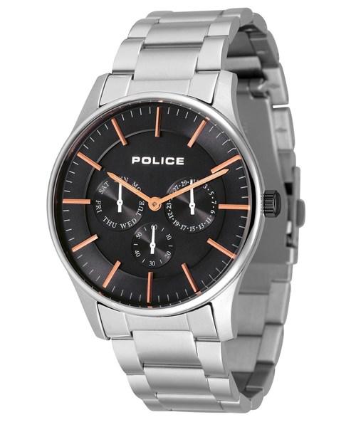 【国内配送】 【セール SSブレス】 PLATINUM【POLICE】ポリス プラチナム COURTESY メンズ SSブレス 腕時計(腕時計)|POLICE(ポリス)のファッション通販, kissora:0df7643e --- kredo24.ru