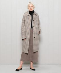 <MACKINTOSH>MULTI CHECK COAT/コート.