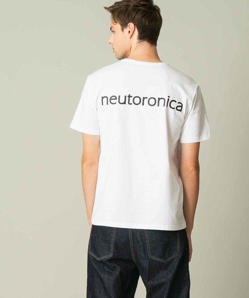 プロゲーマー けんき neutoronica (ニュートロニカ)×ADMIX Japanコラボ企画 バック ロゴ 半袖 Tシャツ