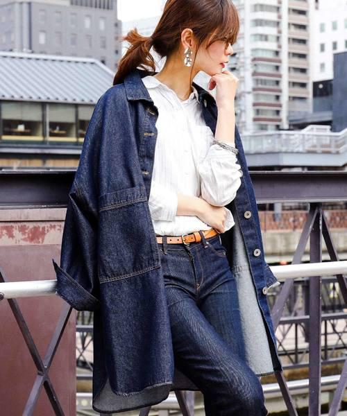 010611f89ed95 Fashion Letter(ファッションレター)のビッグシャツジャケット(ミリタリージャケット)