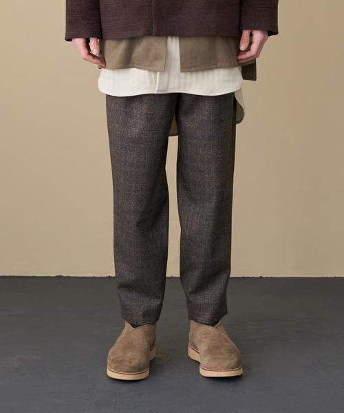 日本初の TROVE CHECK 2019AW RUOHO/ 2019AW RUOHO CHECK PANTS(スラックス)|TROVE(トローヴ)のファッション通販, 葱や けんもち:c0f213dc --- 888tattoo.eu.org