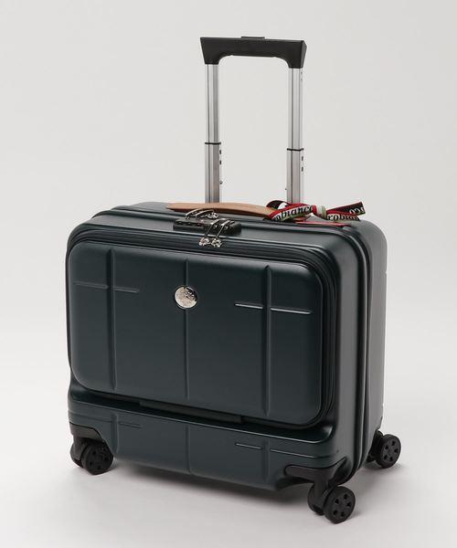 Orobianco(オロビアンコ)の「オロビアンコ 横型キャリーケース 100席以上機内持ち込み可能サイズ 33L(スーツケース/キャリーバッグ)」|グリーン