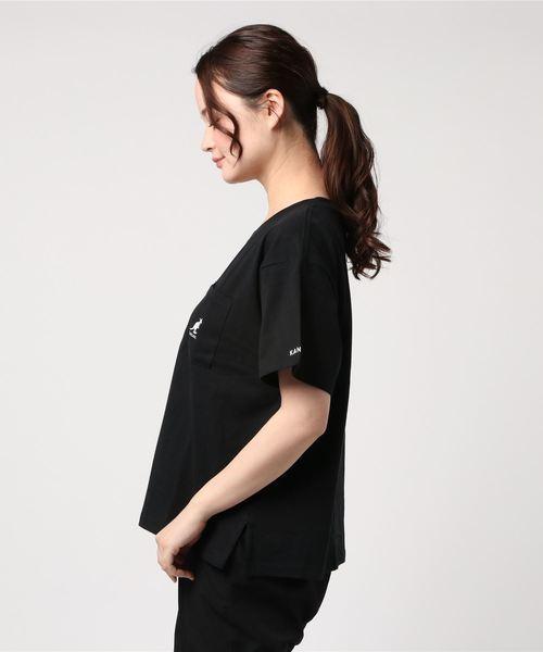 *CR KANGOL 刺繍Tシャツ
