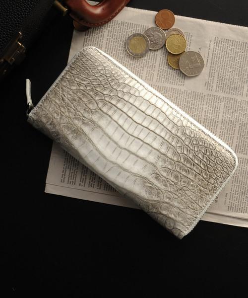 大きな取引 sankyoヒマラヤクロコダイルレザーラウンドファスナー長財布(財布)|sankyo shokai(サンキョウショウカイ)のファッション通販, citron:e0409701 --- pyme.pe