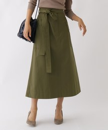 aquagirl(アクアガール)のビッグポケットAラインスカート(スカート)