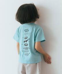MOS BURGER ×green label relaxing kids コラボTEE A