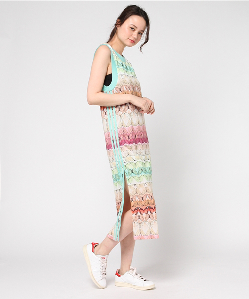 femenino Profecía petróleo  adidas(アディダス)の「【adidas Originals by The Farm Company】 Tドレス[BORBOFRESH TANK  DRESS](ワンピース)」 - WEAR