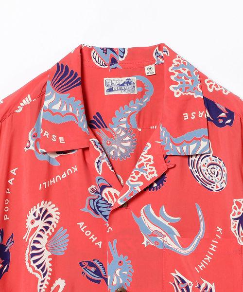 SUN SURF / MO'O LIO Paradise Aloha Shirt