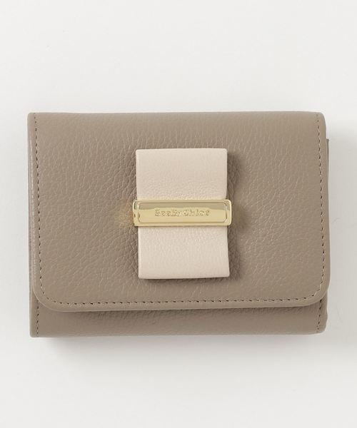 rosita 3 fold 財布 see by chloe シーバイクロエ のファッション