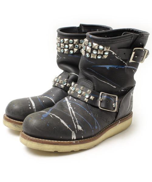 【絶品】 【ブランド古着】ブーツ(ブーツ)|HYSTERIC HYSTERIC GLAMOUR(ヒステリックグラマー)のファッション通販 - USED, 三共WELL-BEING:8c6c7395 --- wm2018-infos.de