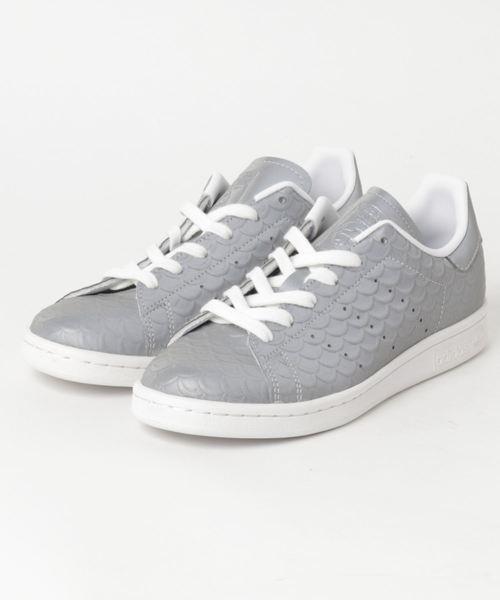 adidas STAN SMITH W (シルバーメット/シルバーメット/ランニングホワイト) / bb5159