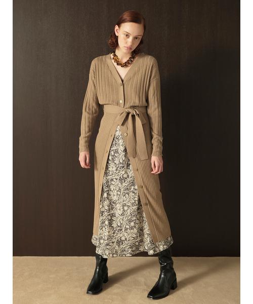 上品なスタイル Brown,リリー Lilyアンサンブルニットワンピース(ワンピース)|Lily Brown(リリーブラウン)のファッション通販, クラフトモンキー:ac518612 --- 5613dcaibao.eu.org
