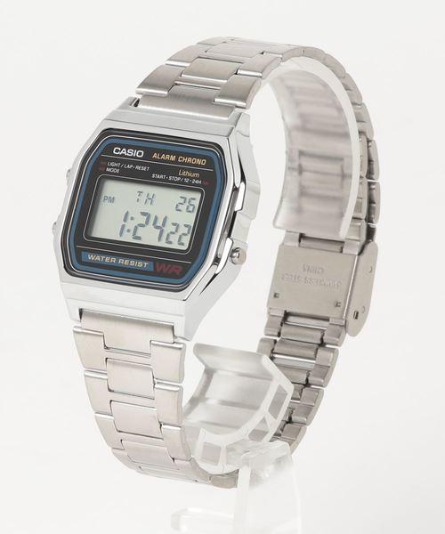 【CASIO/カシオ】チープカシオ デジタル腕時計 A158WA1JF HDG