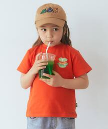 MOS BURGER ×green label relaxing kids コラボTEE B