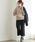 Pierrot(ピエロ)の「360°美脚見えミドル丈ワイドパンツ センタープレス(その他パンツ)」|詳細画像